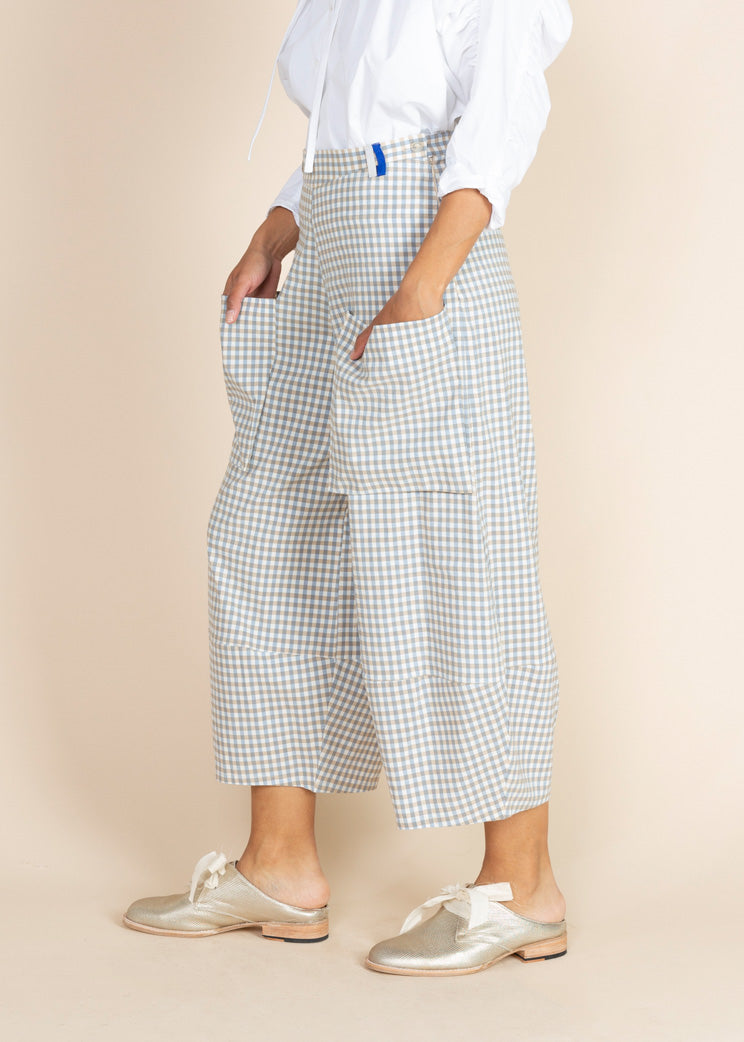 Echappees Belles Checked King Pant