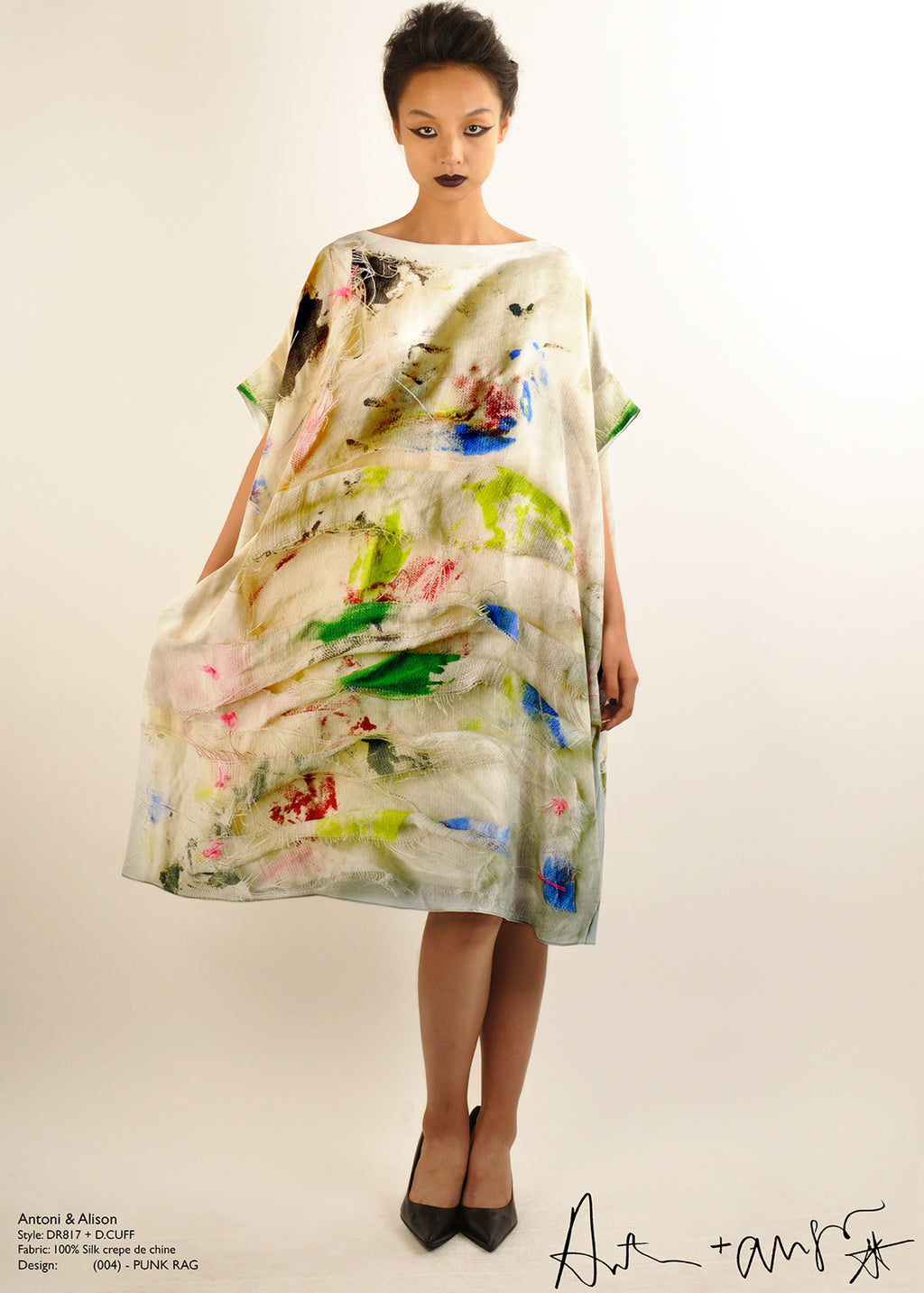 Antoni & Alison Punk Rag Silk Dress