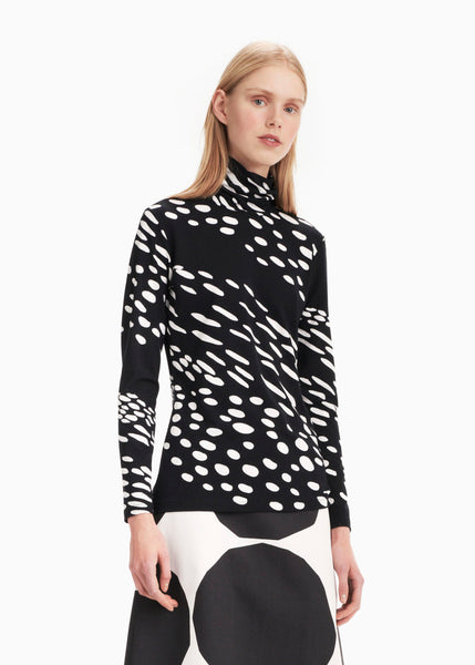 Vinjetti Kottarainen Turtleneck Shirt