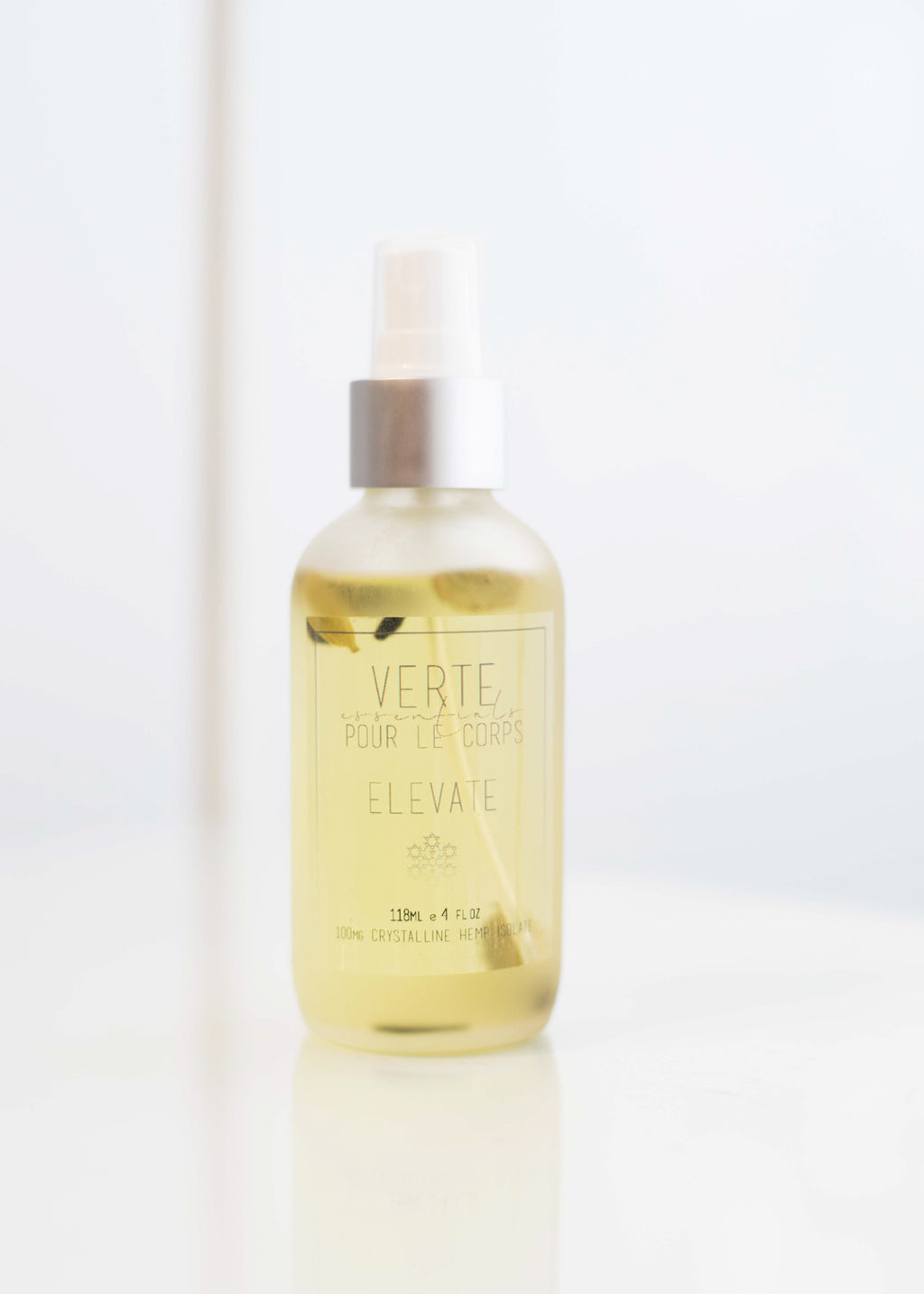 Verte Essentials Elevate Pour Le Corps Spray