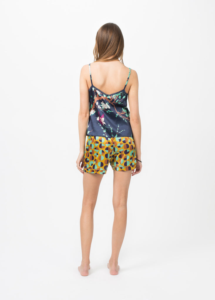 Silk Pajama Short
