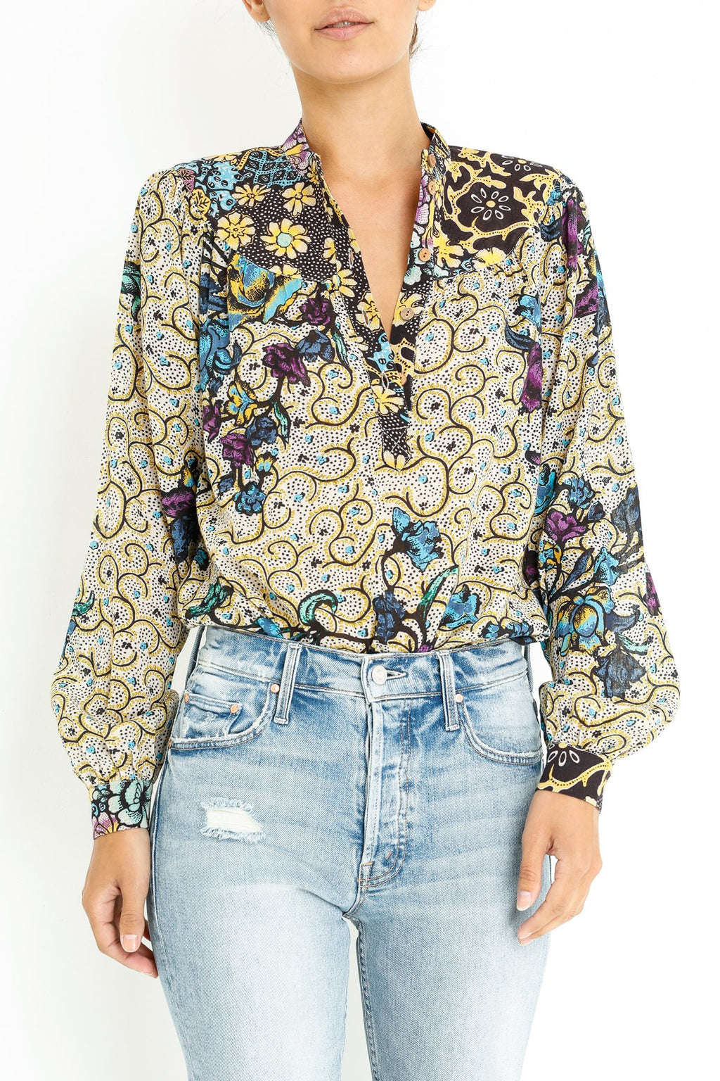 Warm ditte-blouse