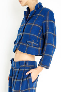 short-plaid-jacket