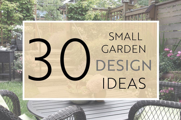 30 incredible small garden ideas designs and diy for Inspirational small garden ideas