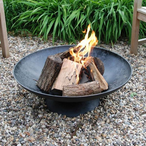 Cast Iron Fire Pit Brazier - Features in Style at Home Magazine