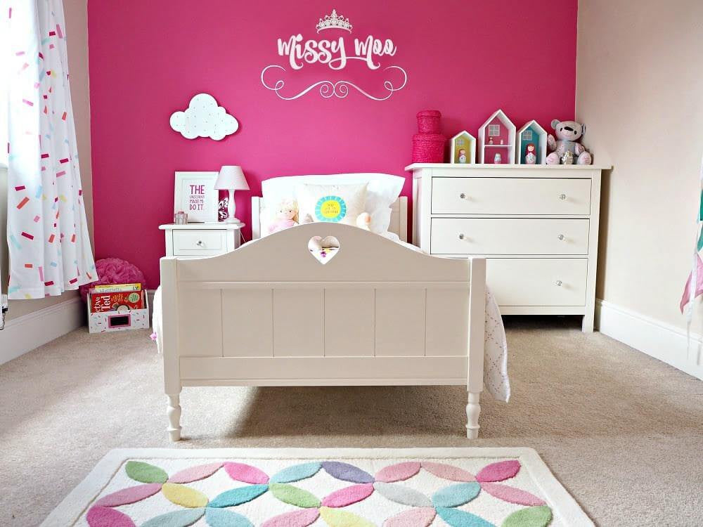kids bedroom ideas pink