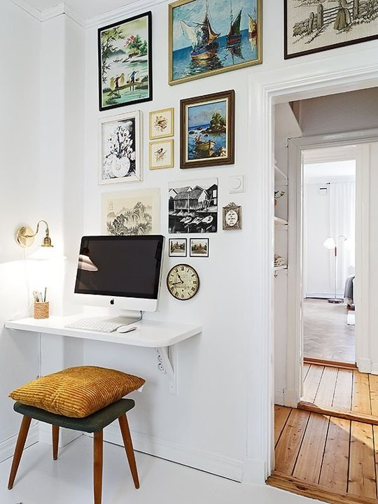24 Ingenious Home Décor Ideas for Small Spaces | The Farthing