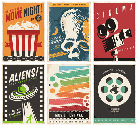 film posters home cinema ideas