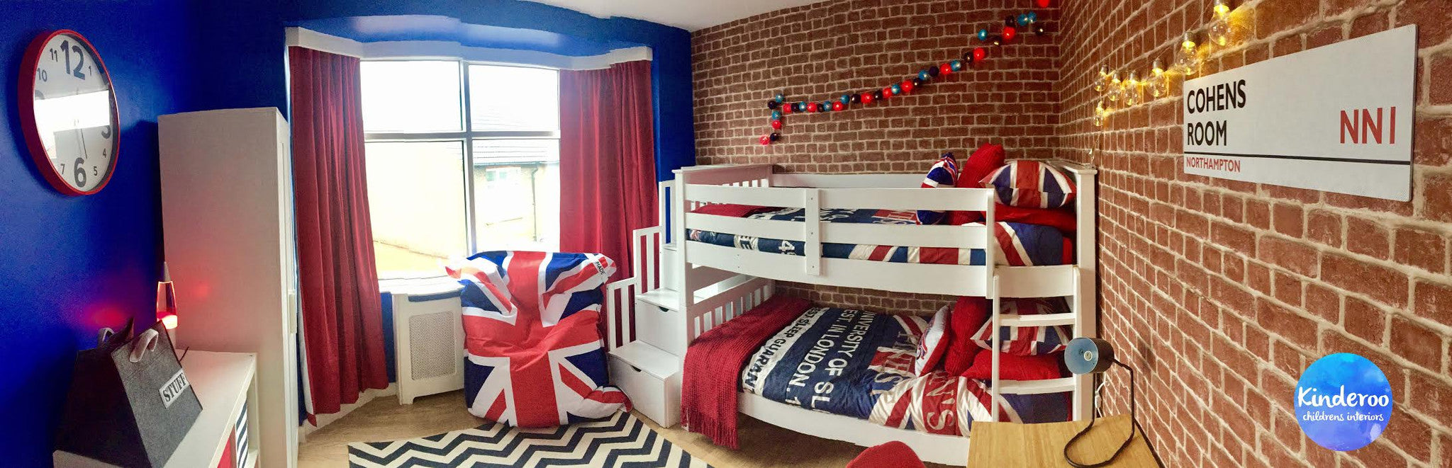 british themed bedroom ideas