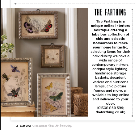 editorial in May Good Homes Magazine