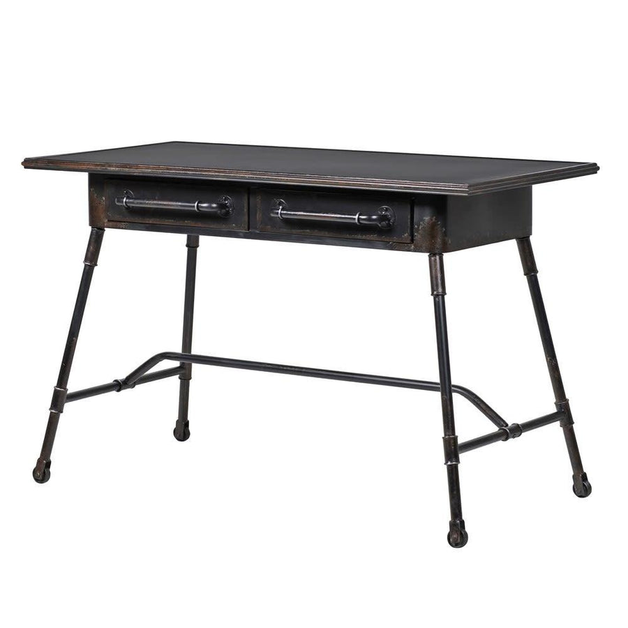 Black Iron Industrial Desk at the Farthing