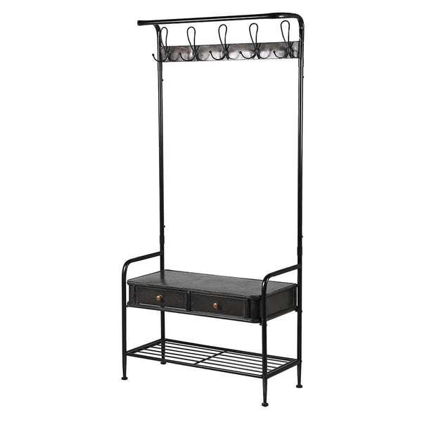 Metal Coat Rack Storage Stand