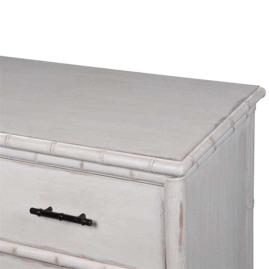 Weathered Off White Camila Chest Of Drawers at the Farthing