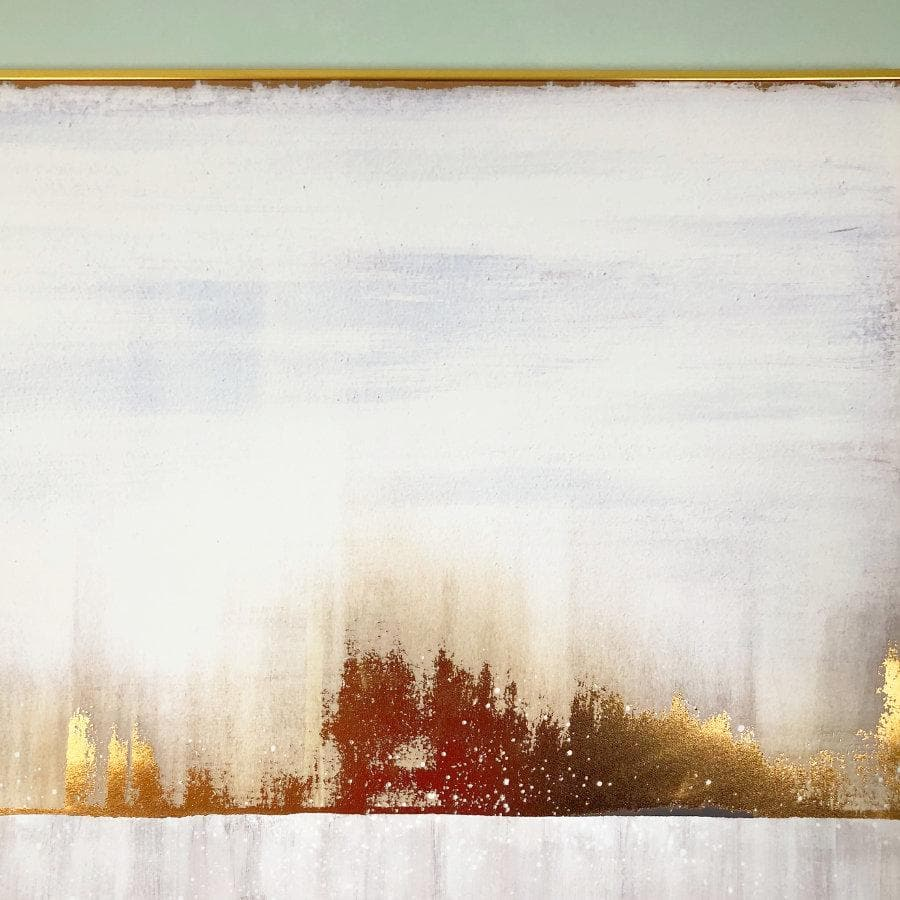 Abstract Horizon Wall Canvas at the Farthing 1