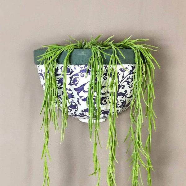 Aged Ceramic Wall Planter | Farthing