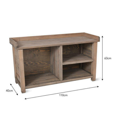 Aldsworth Welly Bench - Spruce | The Farthing 3