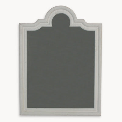Antique Style Distressed Windsor Wall Mirror - The Farthing  - 3