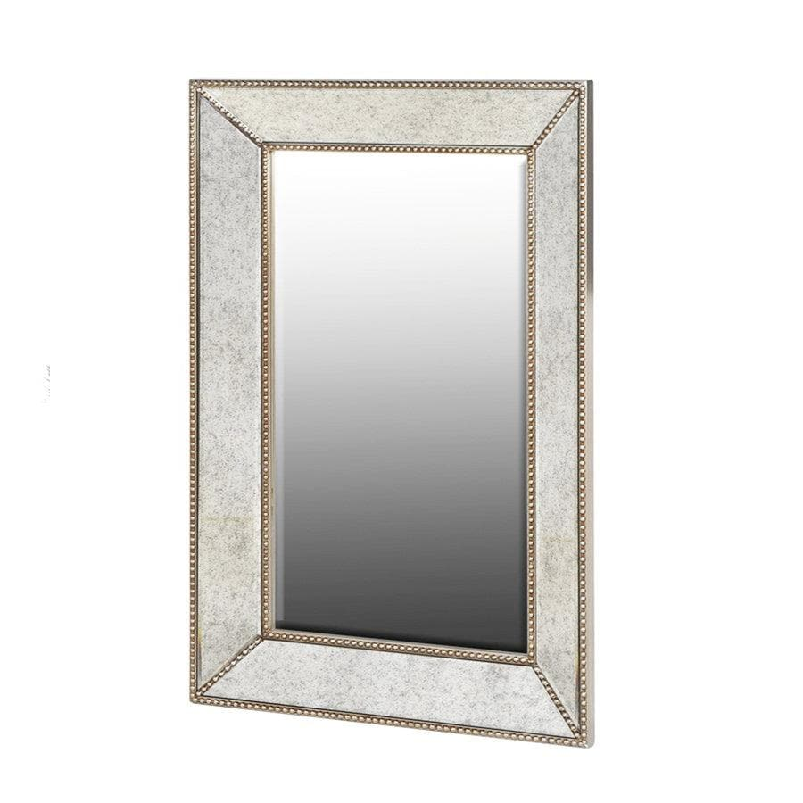 Antiqued Champagne Venetian Wall Mirror | The Farthing