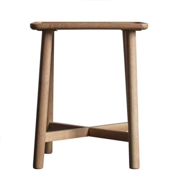 Arendal Skeleton Oak Side Table