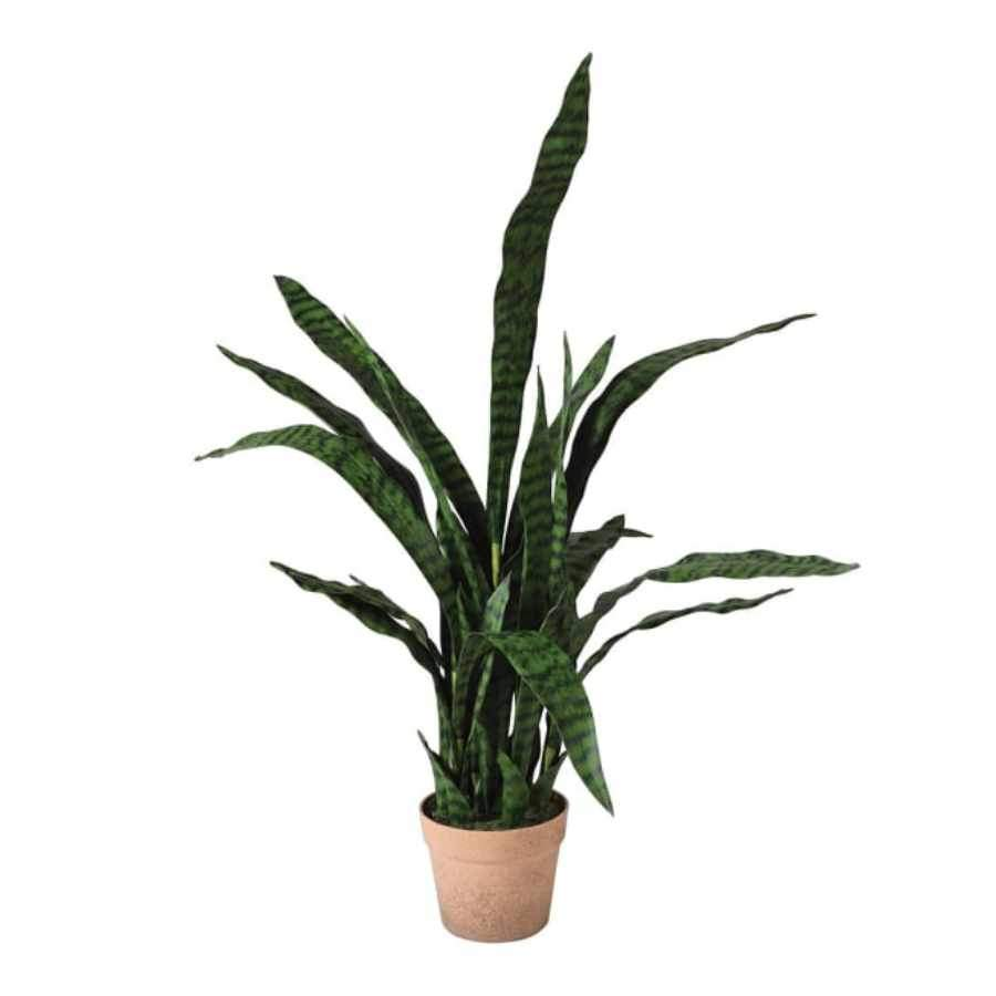 Artificial Potted Sanseriveria Plant
