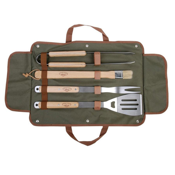 BBQ Tool Set in Carry Bag | The Farthing