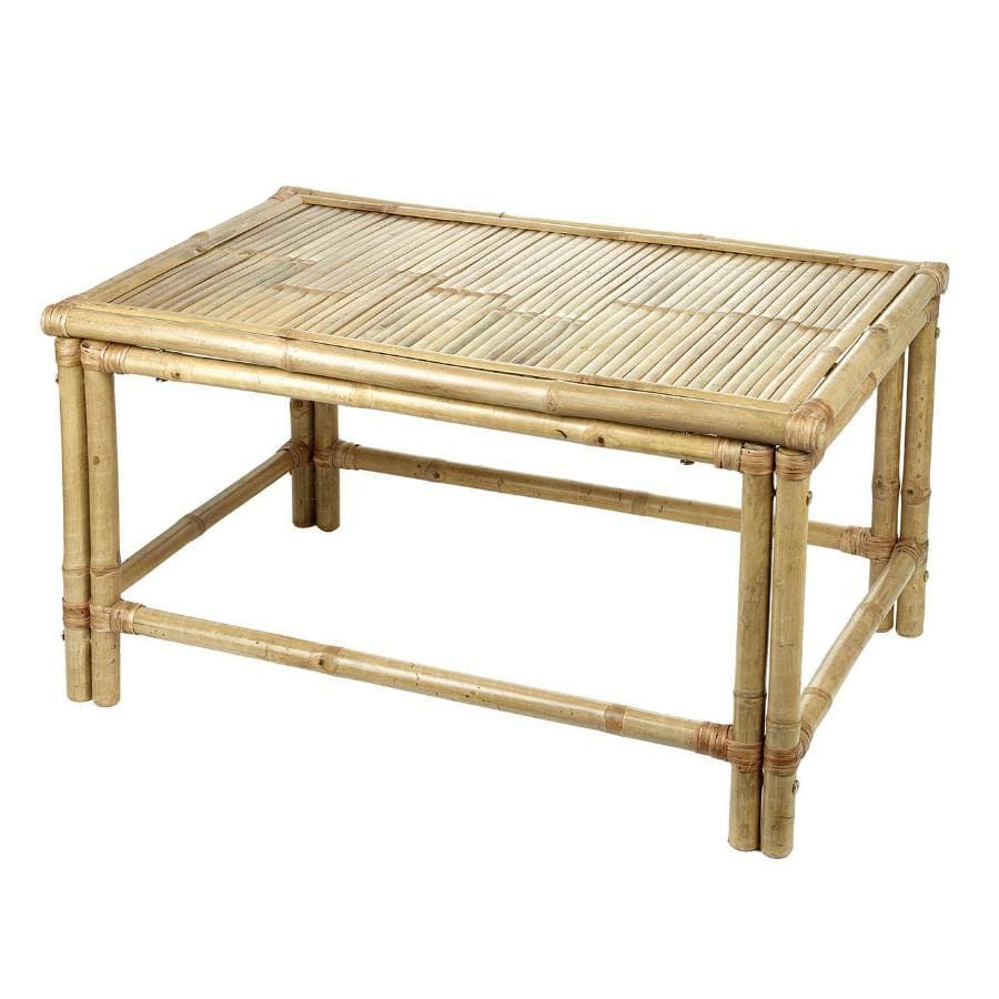 Bamboo Rectangle Coffee Table