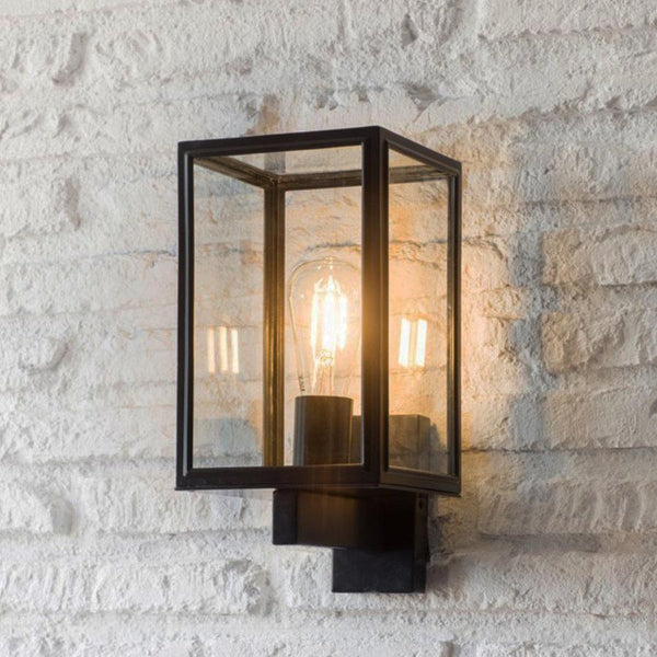 Belgrave Carriage Light in Carbon - Steel | The Farthing