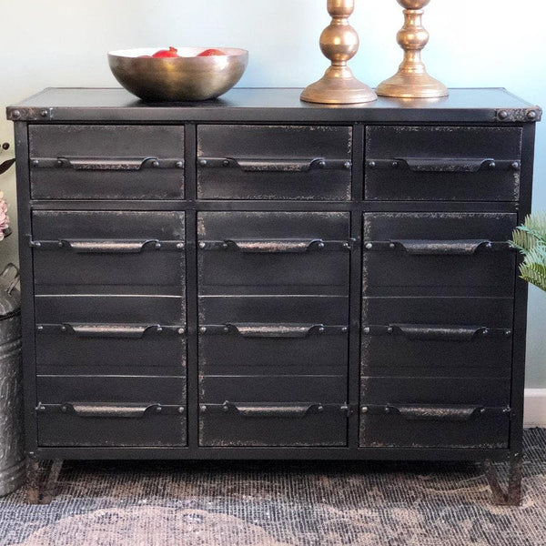 Black Metal Drawer Cabinet | Farthing