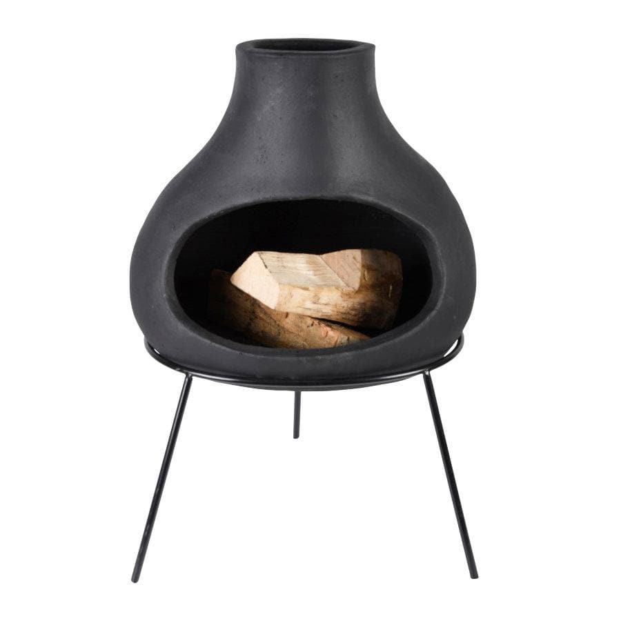 Black Terracotta Bulb Outdoor Heater at the Farthing