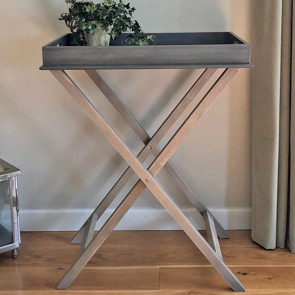 Vintage Industrial Side Tables Wooden Vintage Side