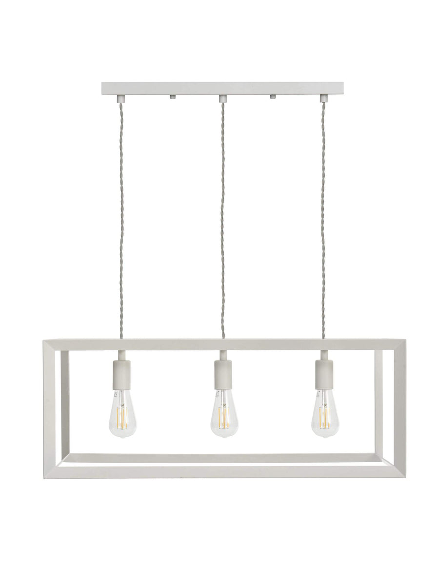 Brunswick Wide Metal Trio Pendant Light at the Farthing