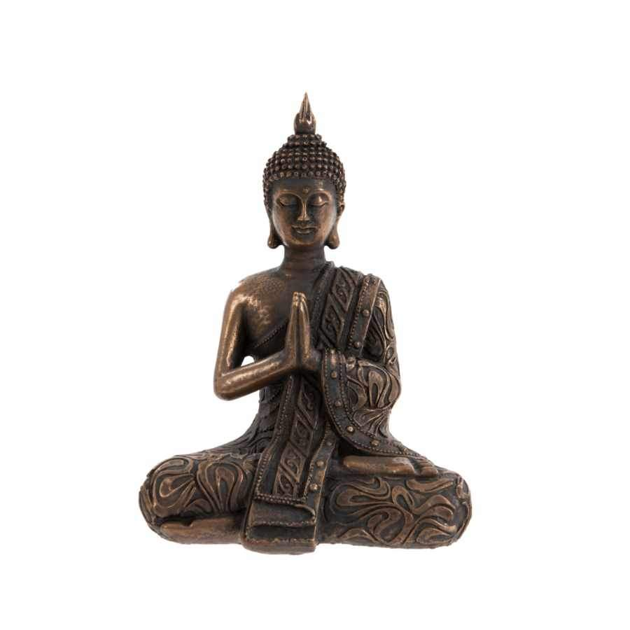 Antiqued Buddha Ornament