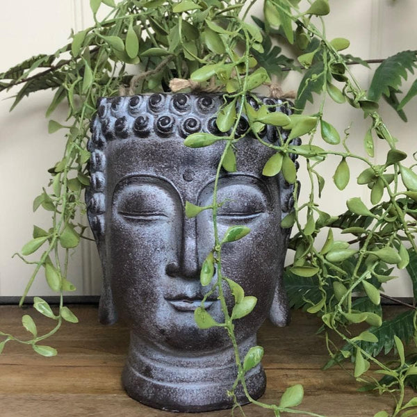 Buddha Head Plant Pot at the Farthing