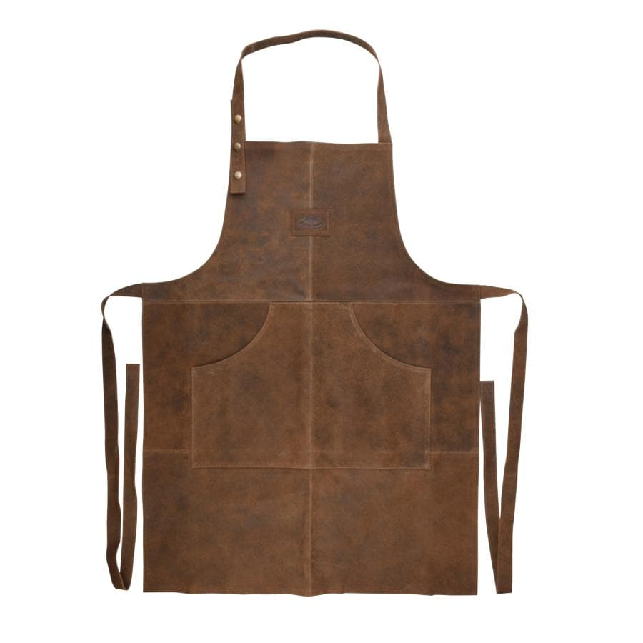 Buffalo Leather BBQ Apron | The Farthing