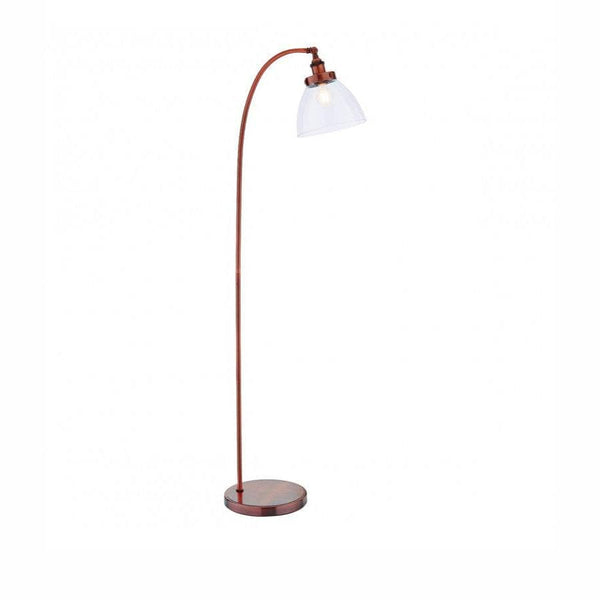 Burnished Copper Floor Lamp The Farthing