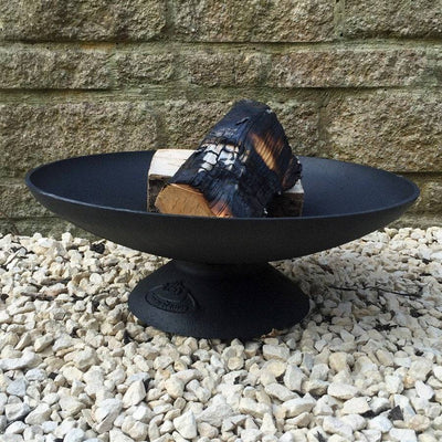 Cast Iron Wood Fire Pit Brazier - The Farthing  - 1