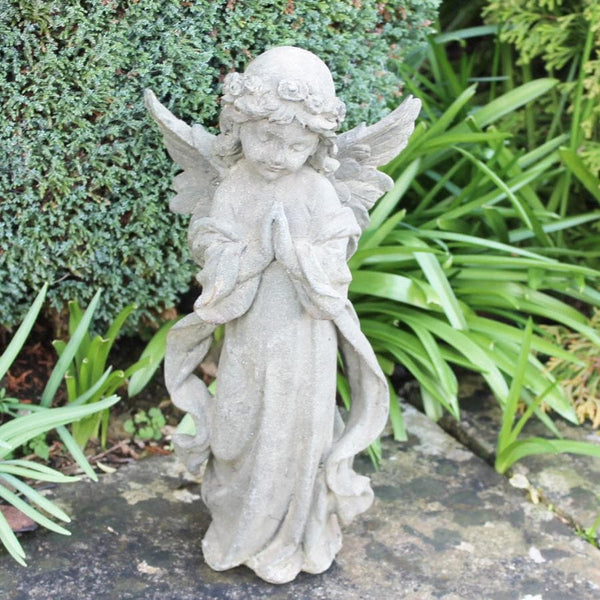 Cast Iron Garden Angel Statue at the Farthing 1