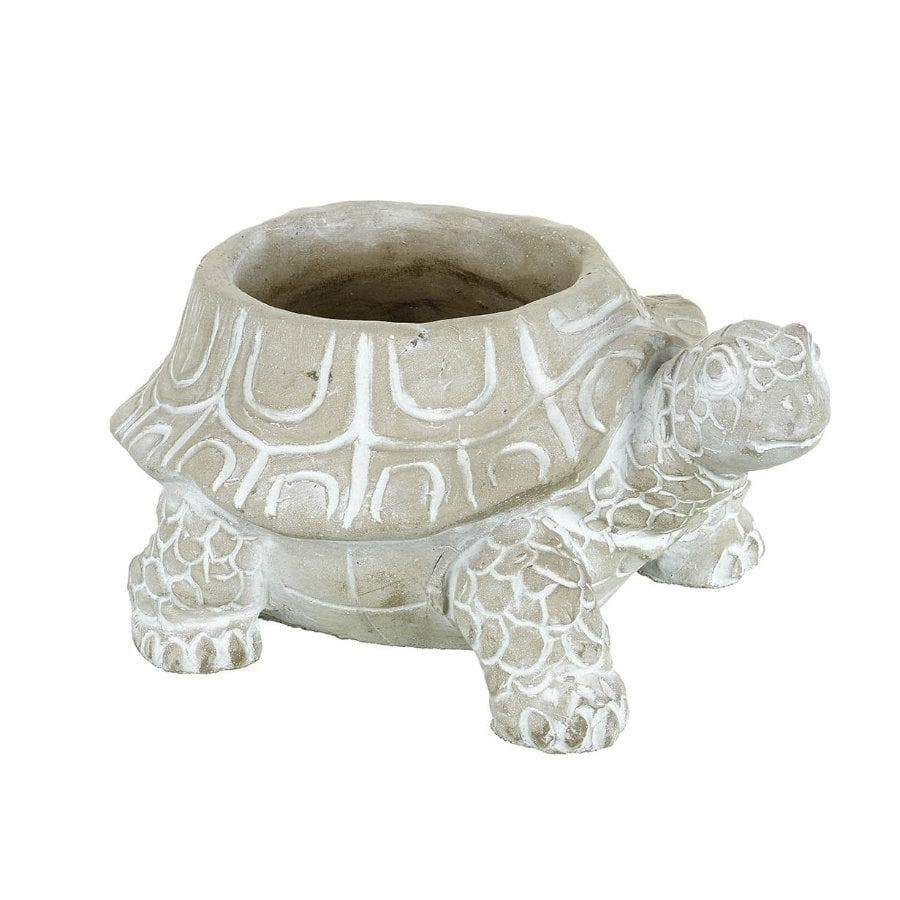 Cement Tortoise Plant Pot at the Farthing