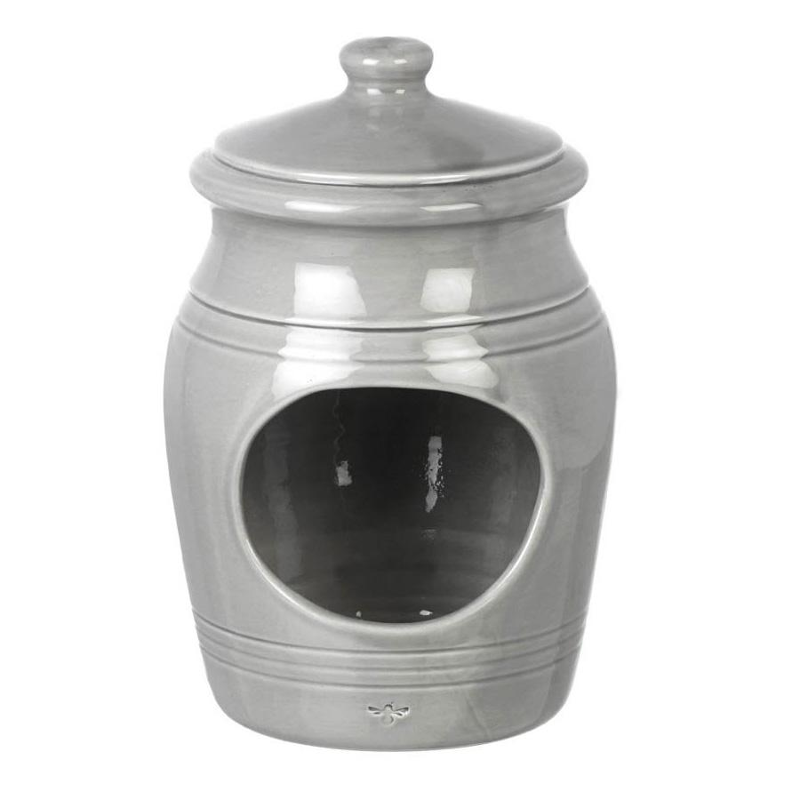 Ceramic Broadwindsor Salt Pig - Grey