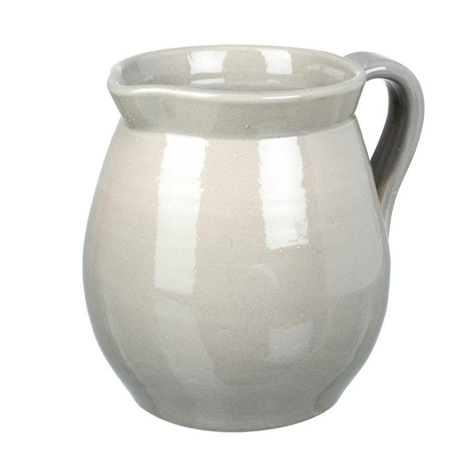 Ceramic Broadwindsor Pitcher - Grey at the Farthing