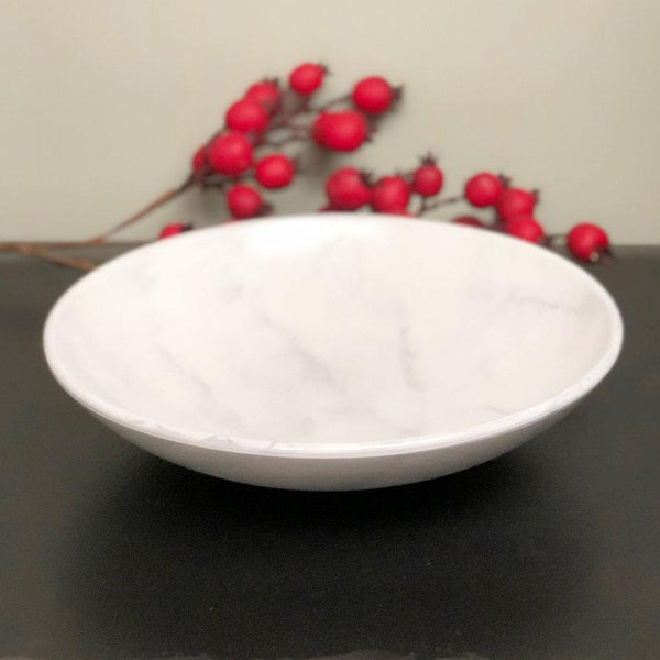 Ceramic Marble Effect Bowl at the farthing 1