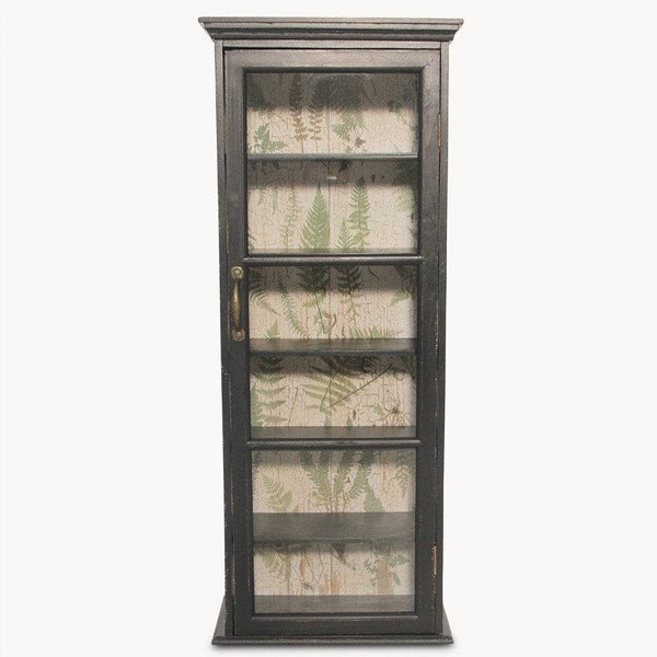 glass fronted wall cabinet shabby chic the farthing
