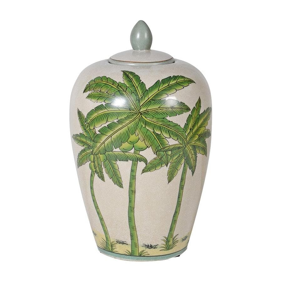Colonial Crackle Glaze Palm Tree Jar | Farthing 2