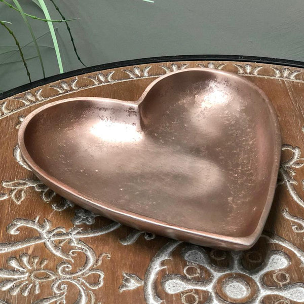 Copper Heart Trinket Tray | The Farthing 3