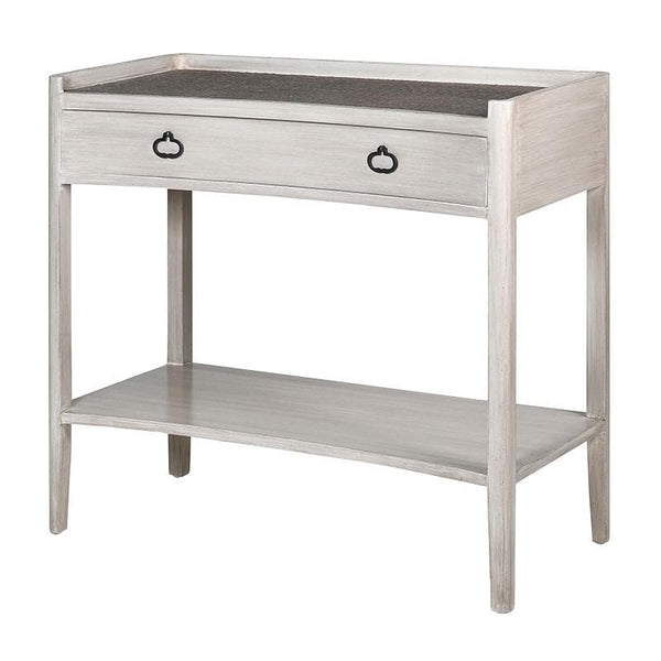 Distressed Curved Front Hampton Console Table