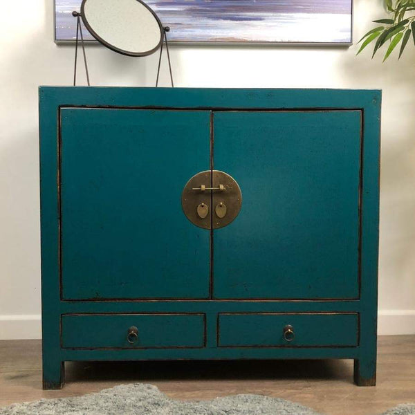 Danba Oriental Dresser Cabinet with Drawers | The Farthing