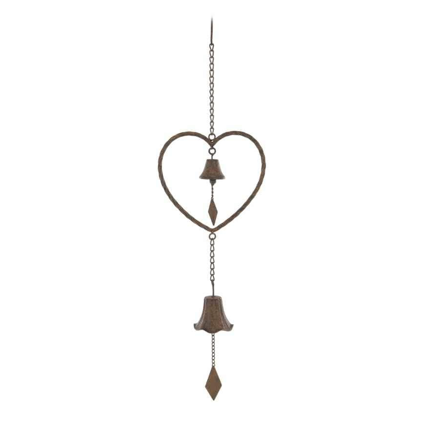 Decorative Hanging Heart Wind Chime