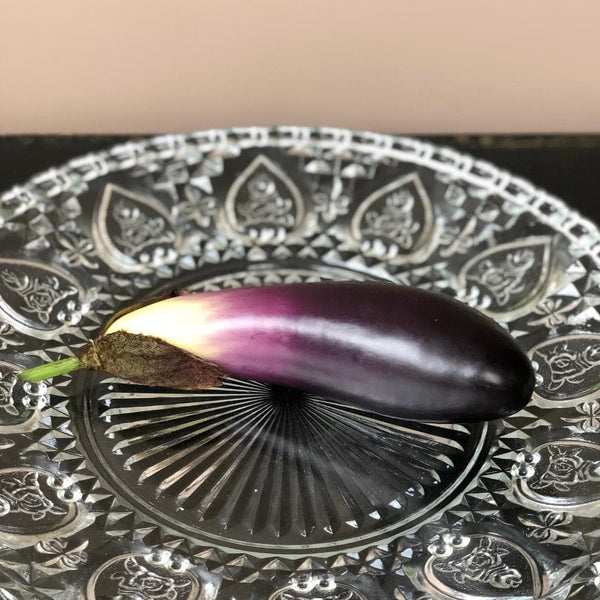 Decorative Faux Aubergine at the Farthing