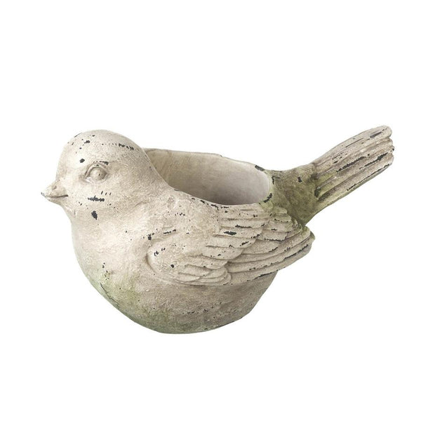 Distressed Bird Tea Light Holder | Farthing