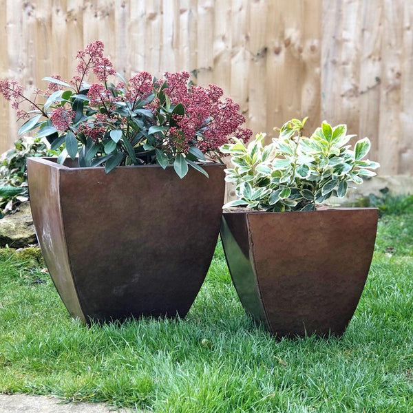 Distressed Copper Planter Set | Farthing